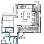 玉川様邸1階